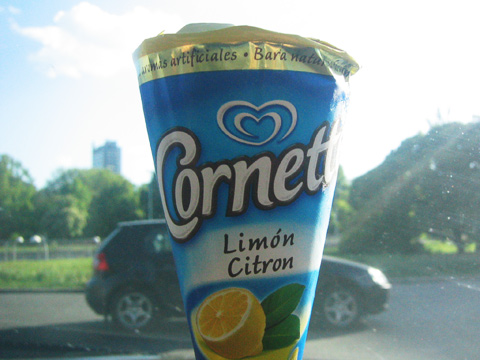Cornetto Lime - Glasskoll.se