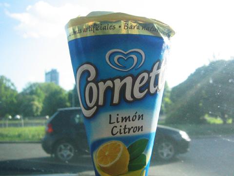 Cornetto Lime - Glasskoll.se