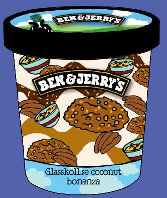 Ben &amp; Jerry's  - Glasskoll.se