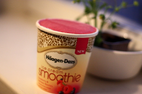 Häagen-Dazs Ice Cream Smoothie - Glasskoll.se Photo by Glassmannen