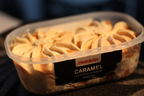 Hemköp Caramel - Glasskoll.se Photo by Glassmannen