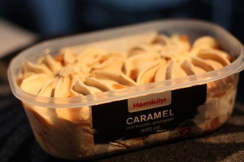 Hemköp Caramel - Glasskoll.se Photo by Glassmannen