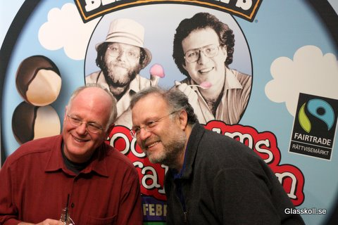 Ben Cohen & Jerry Greenfield - Glasskoll.se Photo by Glassmannenn