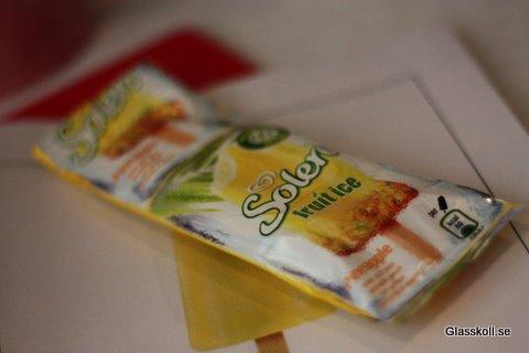 Solero Pineapple - Glasskoll.se Photo by Glassmannen