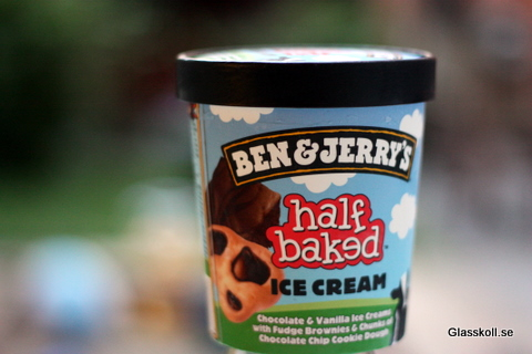 Ben &amp; Jerry's Half Baked - Glasskoll.se Photo by Glassmannen