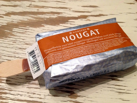 Hansens Nougat - Glasskoll.se Photo by Glassmannen