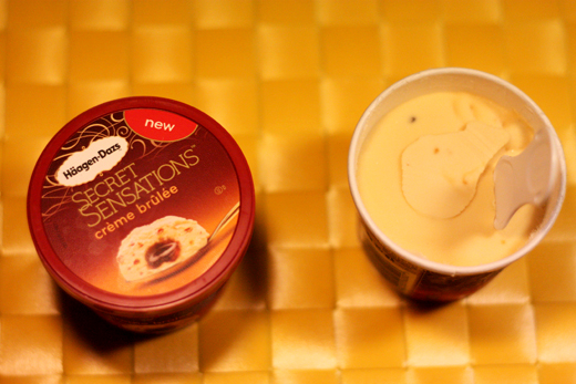 Häagen-Dazs - Creme brulee, Glasskoll.se, Photo by Glassmannen