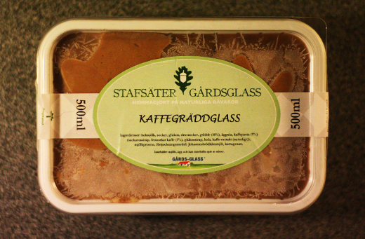 Stafster Glass - Kaffegrddglass